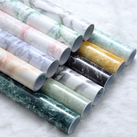 Home decor water resistant wallpaper self adhesive wallpaper roll size