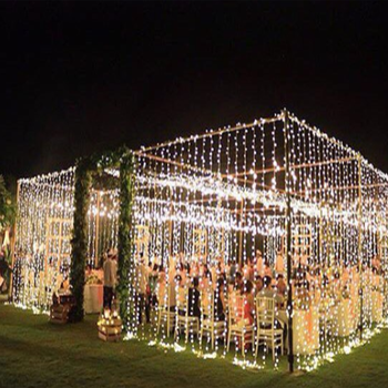 Connectable Wedding Led Curtain Lights For Stage Backdrop Decoration