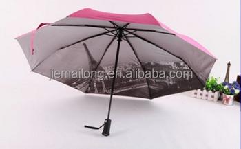 361006e879ad Paris Tower Automatic Led Flashlight Handle Folding Umbrella Promotional  Foldable Umbrella Automatic Umbrella With Light,Led Um - Buy Umbrella With  ...