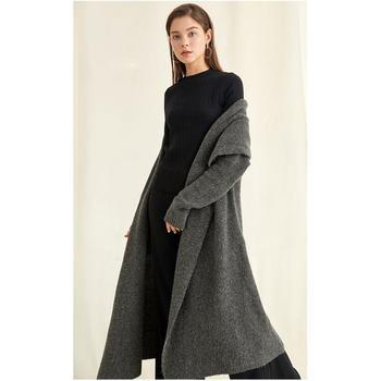 2018 осень зима мода оптовая продажа новый стиль свободный кардиган