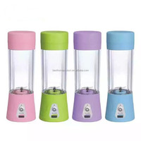 2016 New Design Portable Battery Operated Juice Blender Rechargeable Fruits Mixer Bottle Cup in Shenzhen