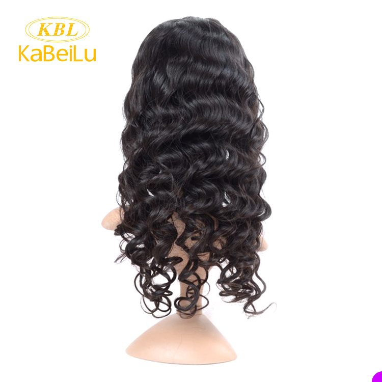 Raw 360 lace frontal wig human hair,8a 360 brazilian human hair lace frontal wig with baby hair,deep curl free lace wig samples