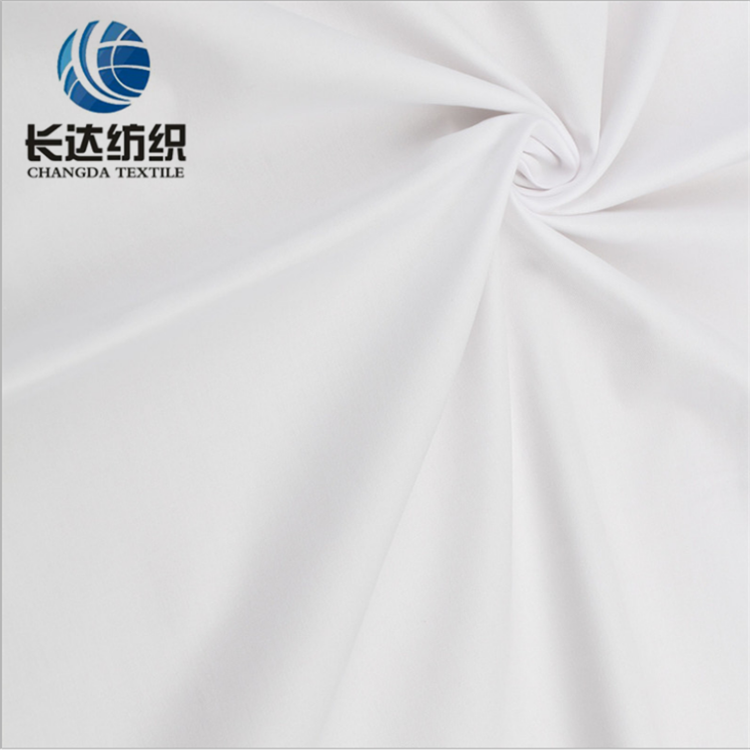 Aaa Grade cvc Tc 65/35 80/20 90/10 Plain Woven White And Dyed Fabrics
