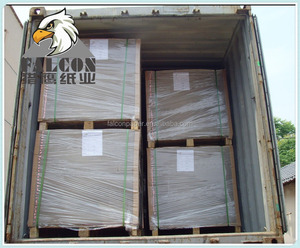 Uncoated book binding recycled paper laminated grey chip board