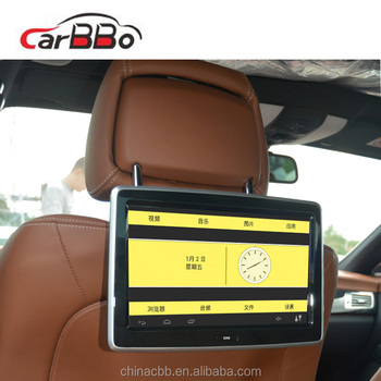 China Brand 10.1 Hd Headrest Touch Screen Monitor Tft Lcd Car Back ...