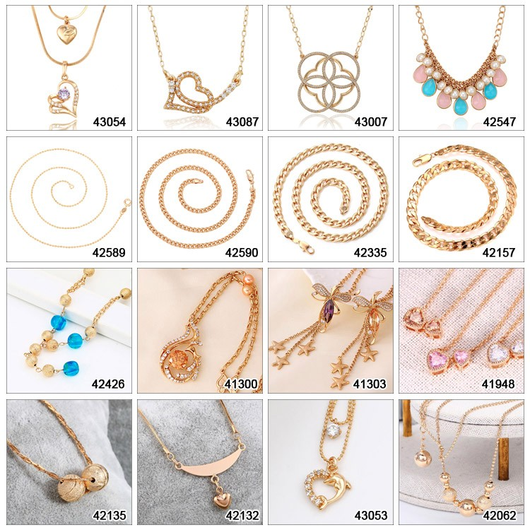 44359 xuping latest designs leather choker necklace for female fancy leaf shaped pendant necklace with magnetic clasp