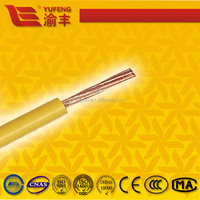 Building and Housing H07Z-U, H07Z-R, H07V-U copper conductor PVC electrical wire
