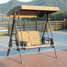 Leisure Double Seat Swing Metal Patio Swing Chair For Sale