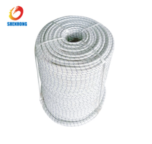 Diameter 20 mm Double Braided Nylon Rope With Breaking Strength 8200KG for Pulling