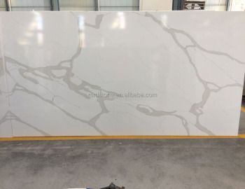 Hot Sale Factory Supplier Artificial Stone White Calacatta Quartz Stone