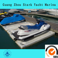 High quality PWC used modular floating jet ski dock for sale make in guangzhou