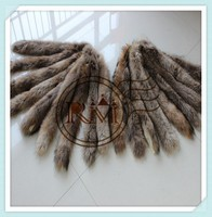 Factory direct sale 100% Genuine chinese raccoon fur