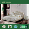 2014 Super Hot Sell Modern Leather Soft Bed DS-C18#