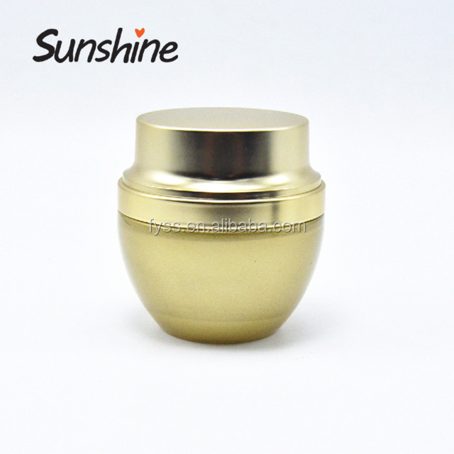 Wholesale Round Shape 30G 50G White Frosted Glass Cream Jar