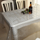 Oil resistant restaurant green tablecloth new fashion paper table cloth