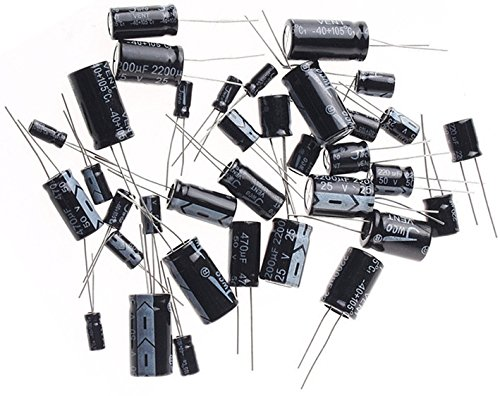 10 Pcs 35V 330uF 105C Radial Lead Electrolytic Capacitor 10mm x 13mm