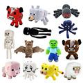 Minecraft Plush Toys 13 Styles Soft Stuffed Animal Doll Kids Game Cartoon Toy Brinquedos Children Gift