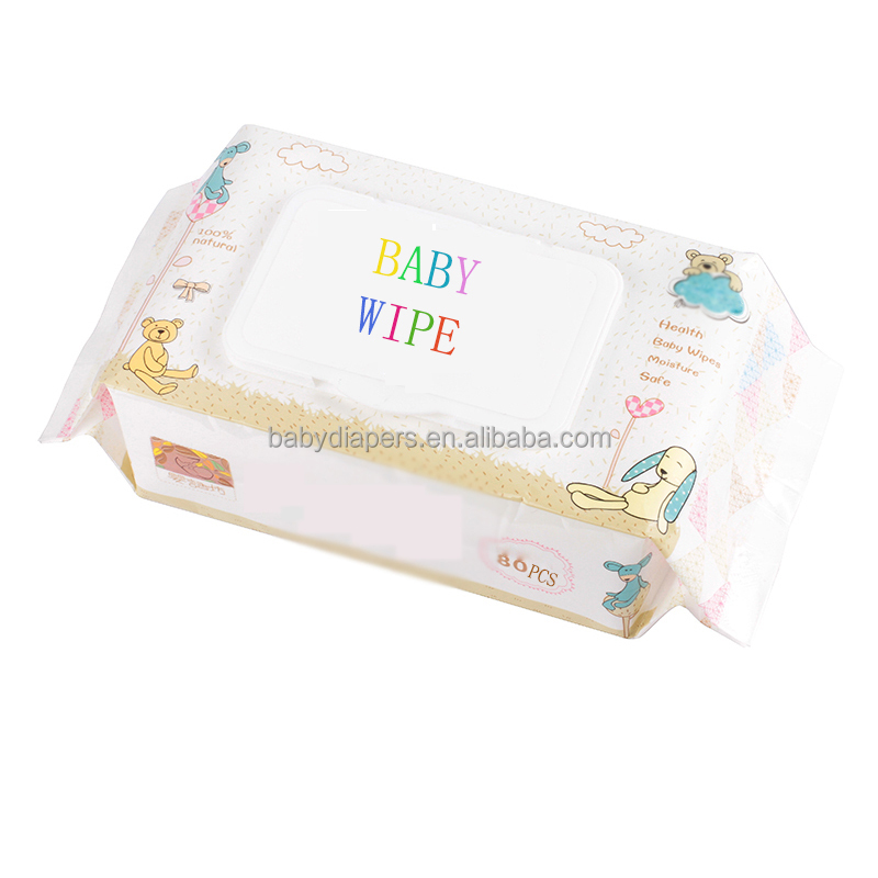 Skin care baby cleaning wipe