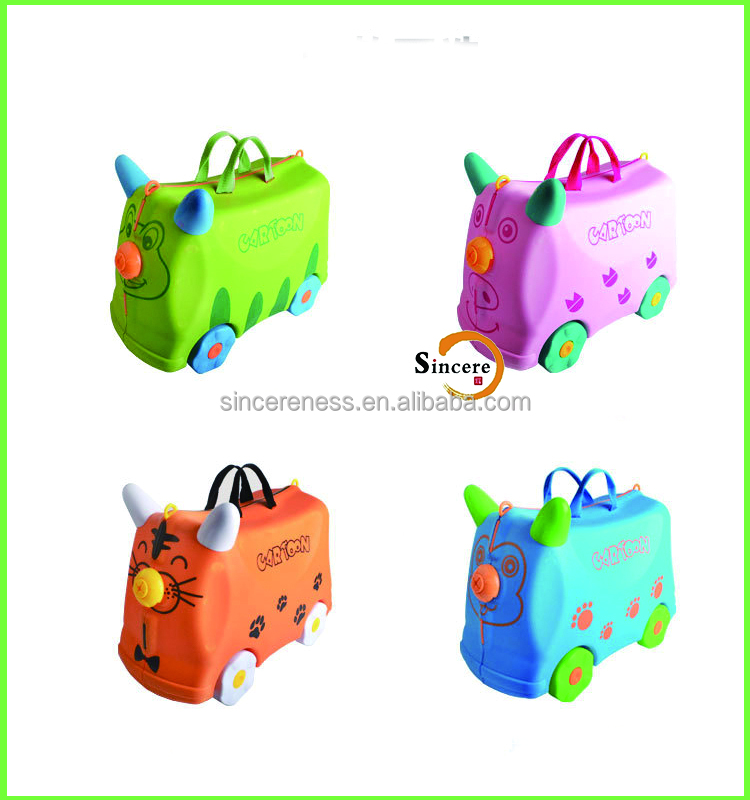 2 in 1 travel suitcase children cartoon kids travel suitcase luggage