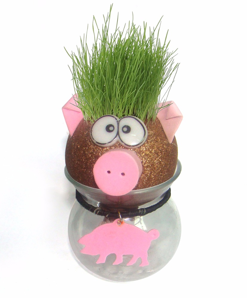 2017 toy grass head doll pet very cheap toys for kids plastic