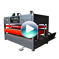 thick plastic ABS sheet acrylic automatic vacuum blister forming machine with CE