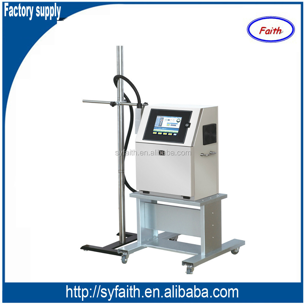 Factory supply low cost Industrial Continuous Ink jet Printer with LCD display fast delivery
