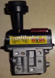 hight quality lower price CKHY0014 case lifting valve (Hyva) HoWo Heavy Truck Parts