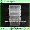 500ml Disposable Microwave Food Grade Plastic Containers