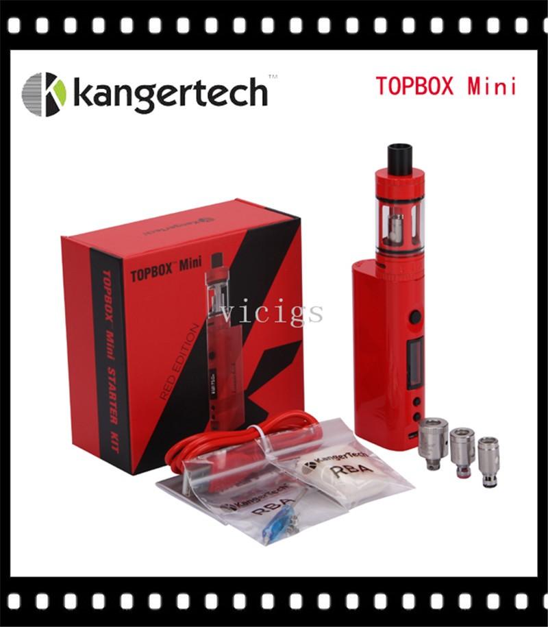 (להזמין מראש) המקורי Kanger Subox מיני Starter kit 50W 0.3 אוהם Kangertech SUBOX מיני סט Subtank מיני Kbox עם כסף ושחורים