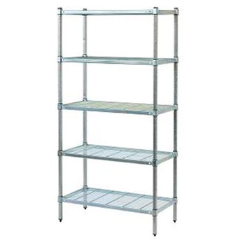 stainless steel wire shelving fits coolroom with tube post