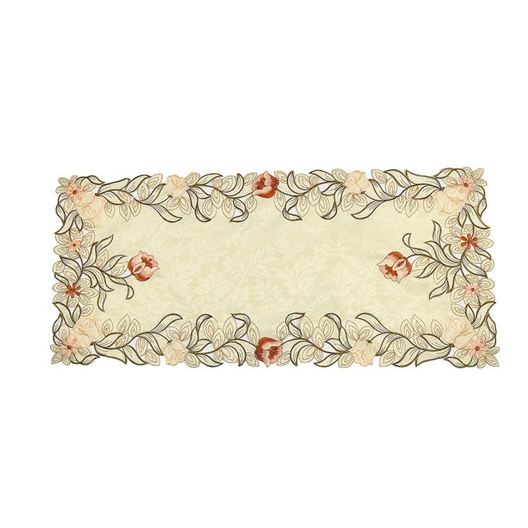 New product OEM quality elegant dinning computer embroidery place mats