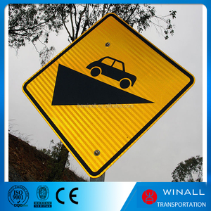 Road Traffic Sign China manufacturer, High way safety Reflective Traffic Aluminum Sign