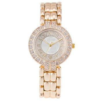 Hip Hop diamond ladies bling bling watches stainless steel wrist watch 9056f60b6a