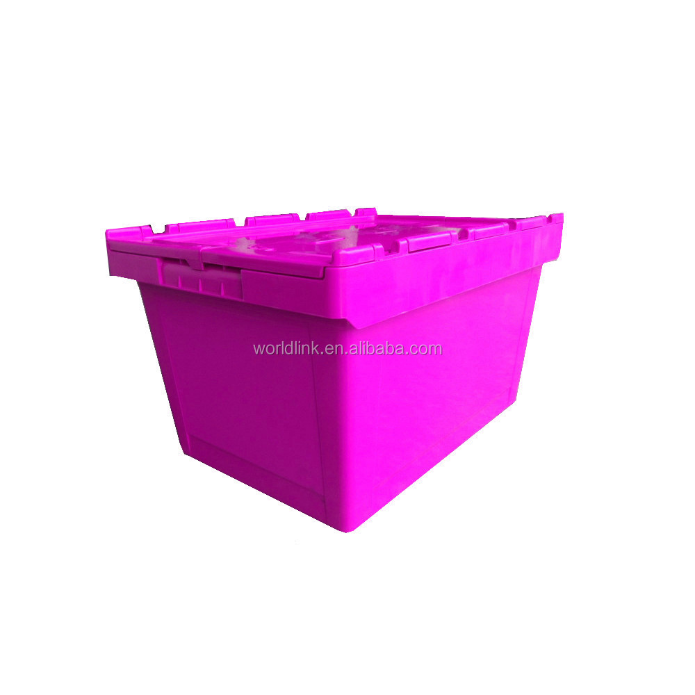 Security Plastic Storage Logistics Stackable Moving Seal Box