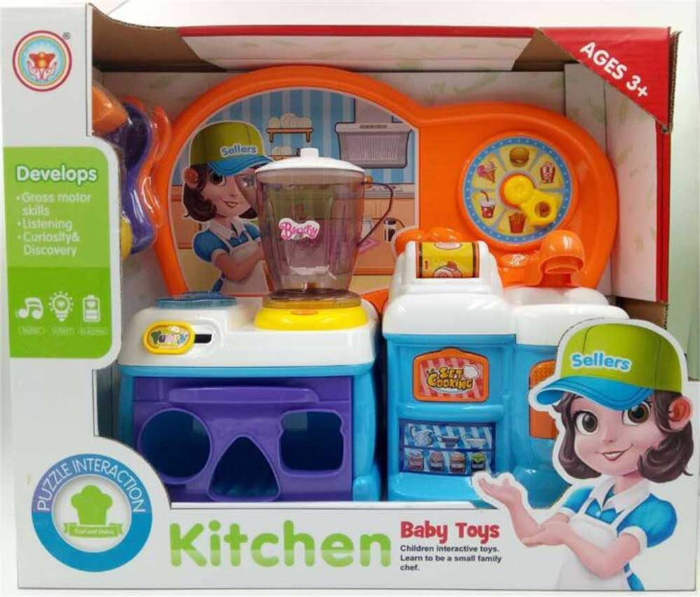 HS001089, Huwsin Toys, Kitchen toy set, Pretend play toy