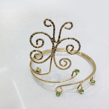 Fashion Flower Curve Gold Silver Adjustable Arm Bracelet Bangle Upper Arm  Cuff Armlet - Buy Arm Cuff Armlet,Cuff Armlet,Gold Arm Cuff Armlet Product