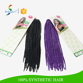 Crochet Hair Extensions Wholesale : hair braid extension SEDITTY BOX BRAID 18 synthetic crochet braids ...