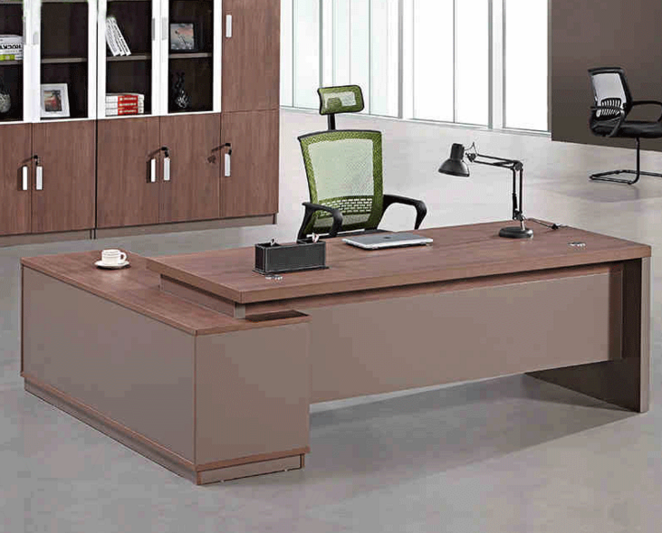 China Manufacturer Painting Ceo Office Desk table With Gloss Finishing