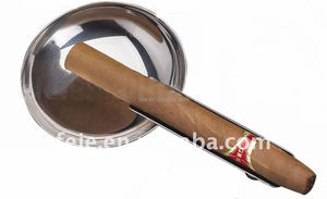 stainless steel cigar ashtray metal cigar ashtray smoking ashtray