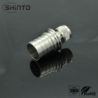 OEM Nickel Plating female and male straight customized N connector