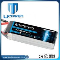 high discharge rate quadcopter FPV racing 3 cell lithium polymer battery