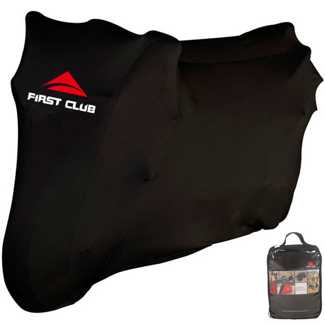 Top Class soft indoor motorcycle cover