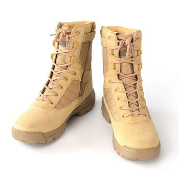 Wholesale Police and Military Desert Boots Outdoor Tactical Combat Man Boot