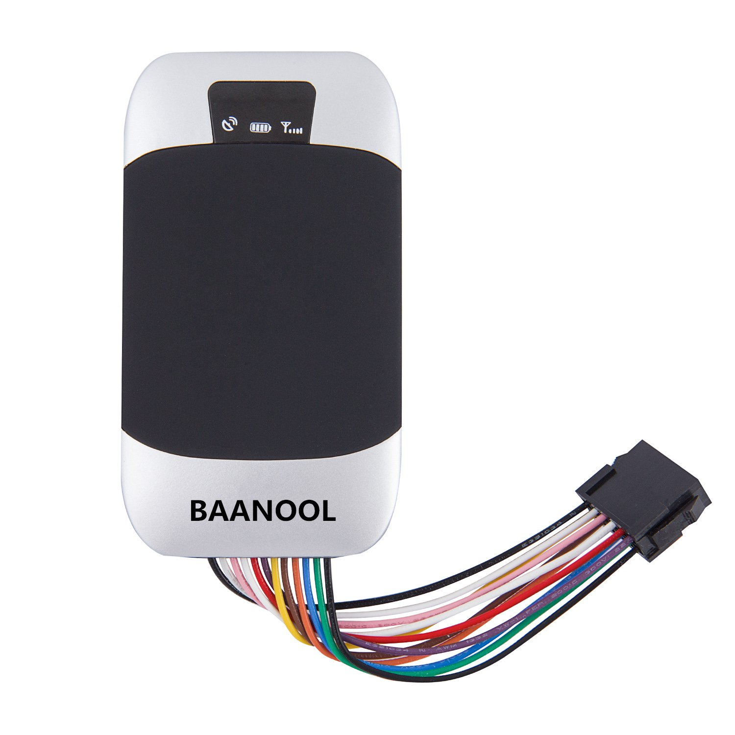 BAANOOL Waterproof GPS Tracker GPS Tracking Device for Vehicles External SIM TF Slot Car Tracker Device Real Time GPS Tracker GSM Vehicle Tracker 303F