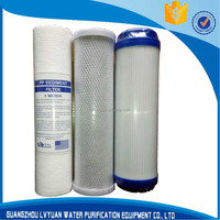 Cheap PP cto water filter cartridge with Long working life