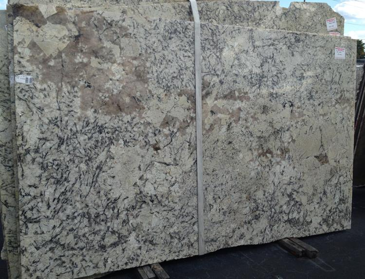full polished natural stone ice blue granite slab for kitchen countertops