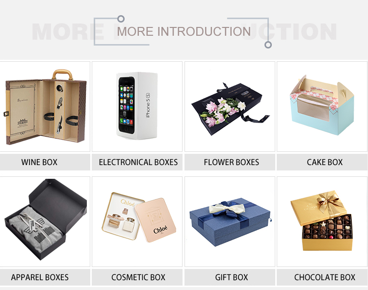 OEM different types hard paperboard sunglasses watch case storage box gift packaging box wholesale