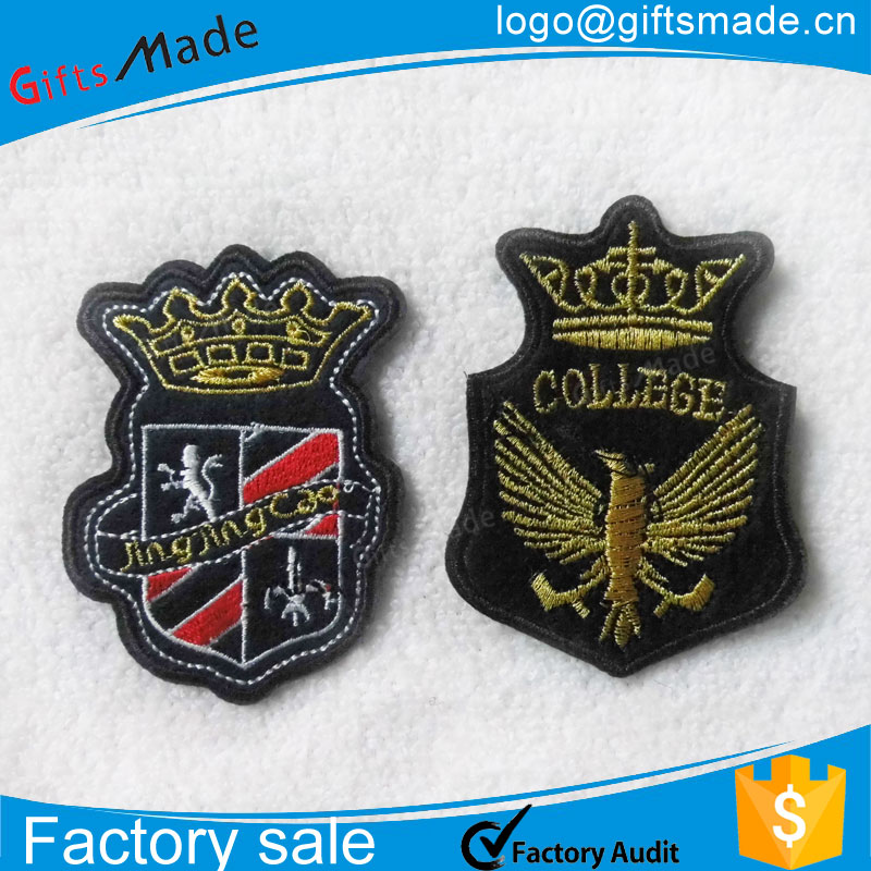 Clothing Badges, Custom Embroidered Patches With Personalized Logo For  Clothes