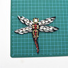 New design shinning clear beads and sequin patch for clothes