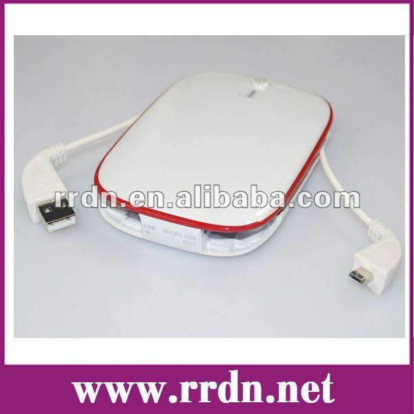 5500mAh Power bank/Portable Power Charger for Tablet/ iPad/Mobile/MP3/4/GPS